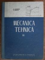 Anticariat: D. Boiangiu, Eugenia Rizescu - Mecanica tehnica (volumul 2)