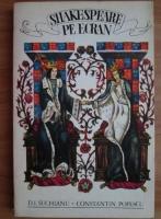 Anticariat: D. I. Suchianu - Shakespeare pe ecran