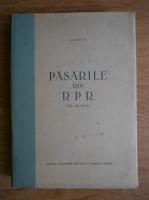 D. Lintia - Pasarile din R. P. R (volumul 2)