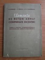 D. Moraru - Elemente de betonarmat comprimate excentric