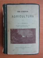 Anticariat: D. P. Petrescu - Curs elementar de agricultura (1906)