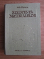 D. R. Mocanu - Rezistenta materialelor
