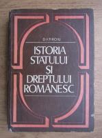 Anticariat: D. V. Firoiu - Istoria statului si dreptul romanesc