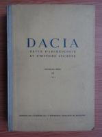 Dacia. Revue d'archeologie et d'histoire ancienne (volumul 9)