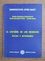 Daiana Georgiana Dumbravescu - El espanol de los negocios textos y actividades