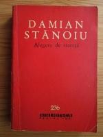 Anticariat: Damian Stanoiu - Alegere de stareta