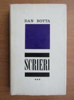 Anticariat: Dan Botta - Scrieri (volumul 3)