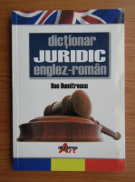 Dan Dumitrescu - Dictionar juridic englez-roman