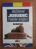 Anticariat: Dan Dumitrescu - Dictionar juridic roman-englez