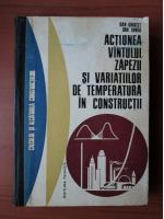 Dan Ghiocel - Actiunea vantului, zapezii si variatiilor de temperatura in constructii