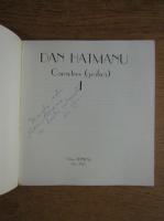 Dan Hatmanu - Caractere I (cu autograful autorului)