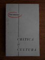 Anticariat: Dan Haulica - Critica si cultura