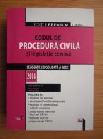 Anticariat: Dan Lupascu - Codul de procedura civila si legislatie conexa