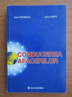 Dan Popescu - Conducerea afacerilor