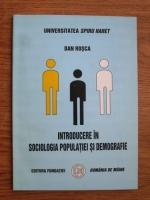 Anticariat: Dan Rosca - Introducere in sociologia populatiei si demografie