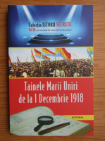 Anticariat: Dan Silviu Boerescu - Tainele Marii Uniri de la 1 decembrie 1918 (volumul 12)