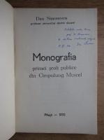 Anticariat: Dan Simionescu - Monografia primei scoli publice din Cimpulung Muscel (cu autograful autorului)