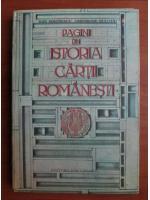 Anticariat: Dan Simonescu - Pagini din istoria cartii romanesti