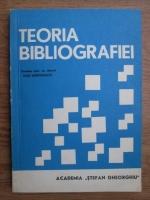 Anticariat: Dan Simonescu - Teoria bibliografiei