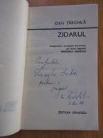 Anticariat: Dan Tarchila - Zidarul (cu autograful autorului)