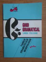 Anticariat: Dana Silvia Tilica - Ghid gramatical, limba italiana
