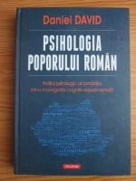 comperta: Daniel David - Psihologia poporului roman. Profilul psihologic al romanilor intr-o monografie cognitiv-experimentala