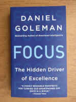 Anticariat: Daniel Goleman - Focus