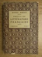 Daniel Mornet - Precis de litterature francaise (1925)