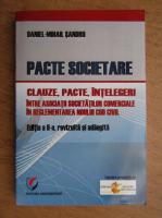 Anticariat: Daniel Sandru - Pacte societare