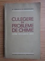 Daniel Tanase - Culegere de probleme de chimie pentru invatamantul mediu
