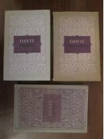 Dante Alighieri - Divina comedie: Purgatoriul, Paradisul, Infernul (3 volume)