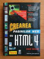 Anticariat: Dave Taylor - Crearea paginilor web cu HTML 4 (+CD)