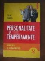 Anticariat: David Keirsey - Personalitate si temperamente. Descriere si compatibilitati
