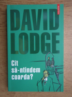 Anticariat: David Lodge - Cat sa-ntindem coarda?