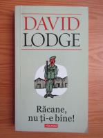 Anticariat: David Lodge - Racane, nu ti-e bine!