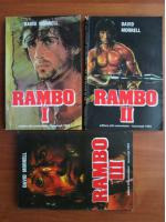 Anticariat: David Morrell - Rambo (3 volume)