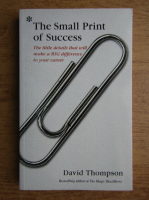 David Thompson - The small print of success