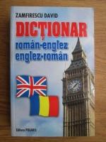 Anticariat: David Zamfirescu - Dictionar roman-englez, englez-roman