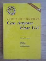 Deepa Narayan - Voices of the poor. Can anyone hear us?