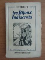 Anticariat: Denis Diderot - Les bijoux indiscrets (1930)