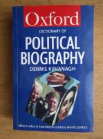 Dennis Kavanagh - A Dictionary of Political Biography