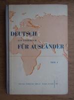 Anticariat: Deutsc ein Lehrbuch fur Auslander (volumul 1)
