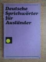 Deutsche Sprichworter fur Auslander