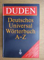 Deutsches universal worterbuch A-Z