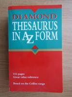 Anticariat: Diamond thesaurus in A Z form