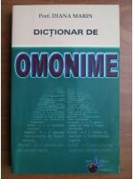 Anticariat: Diana Marin - Dictionar de omonime