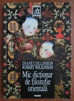 Anticariat: Diane Collinson - Mic dictionar de filozofie orientala
