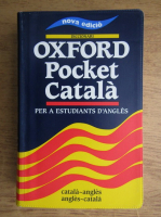 Diccionari Oxford Pocket Catala per a estudiants d'angles. Catala-angles, angles-catala