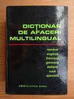 Anticariat: Dictionar de afaceri multilingual