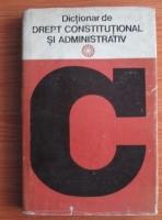 Anticariat: Dictionar de drept constitutional si administrativ